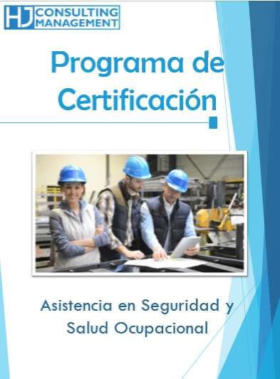 Asistencia en Seguridad y Salud Ocupacional (PROGRAMA DE CERTIFICACIÓN)