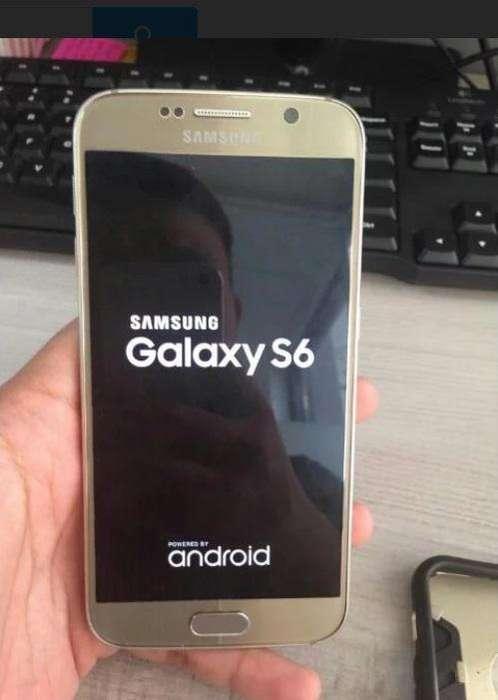 f610522e73a Vendo Samsung S6 Dorado 32gb En Perfecto Estado