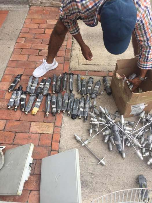 Lote equipos mikrotik Rb metal 5