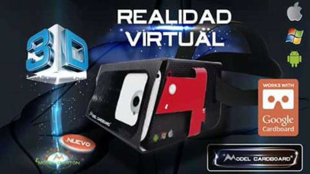 Gafas de Realidad Virtual Mdel Cardboard