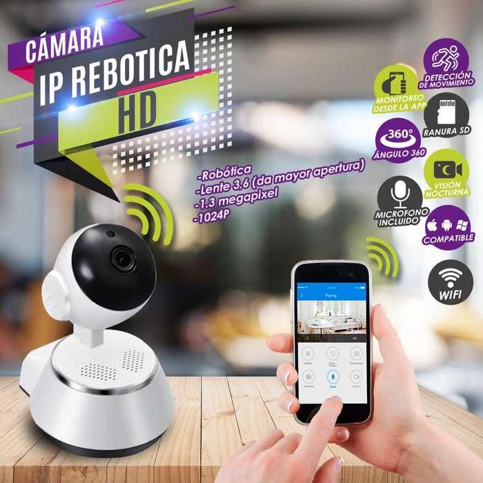 CAMARA IP ROBOTICA ESPECIAL CASA Y NEGOCIOS VER X CELULAR