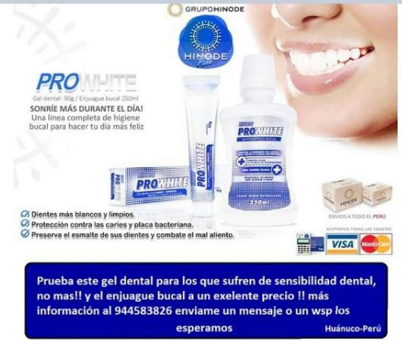 Gel Dental para Sensibilidad Dental Hnd