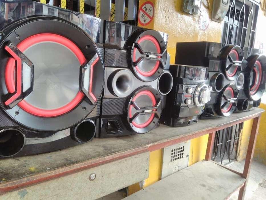 Equipo de Sonido Lg Cm9540