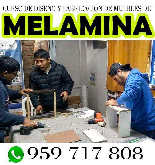 curso de melamina-nuevo inicio 21 de Setiembre-arma tu propio taller en tu hogar a bajo costo y fácil