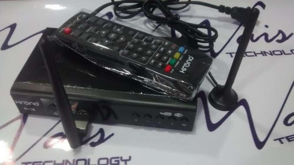 TV Digital sin Facturas TDT Decodificador HD