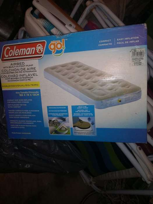 Vendo Colchónes Inflamables Coleman