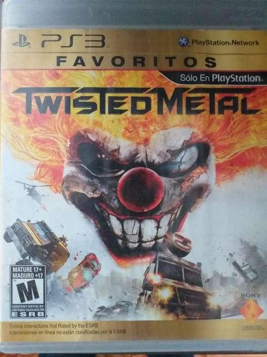 Se Vende Twisted Metal Ps3 Buen Estado
