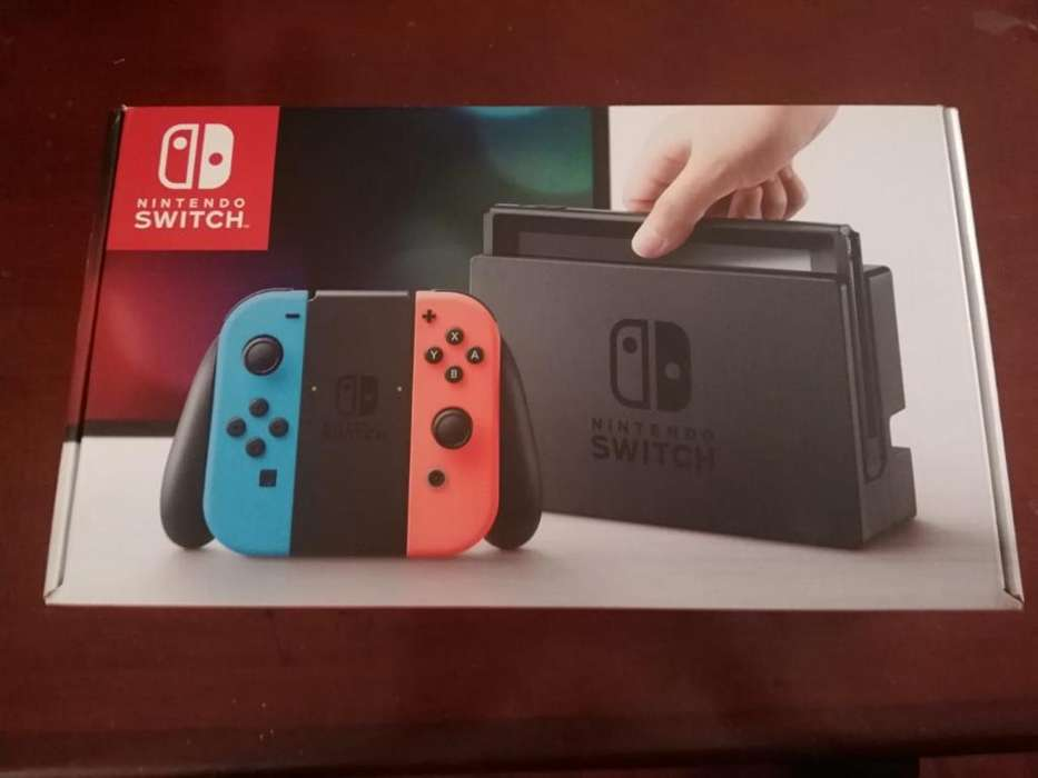 Nintendo Switch Neón Usada