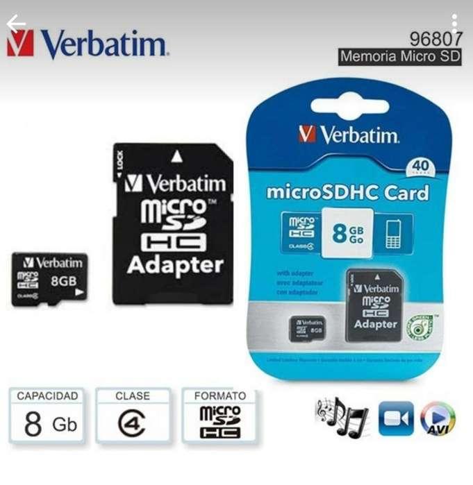 Vendo Memoria Micro Sd 8 Gb