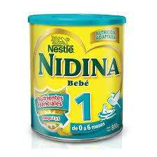 Leche En Polvo Nestle Nidina Bebe 1 De 0 A 6 Meses 800 Gr