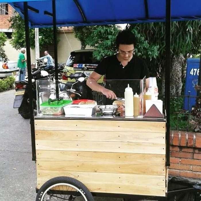 Food truck- carrito exhibidor para comida u otro tipo de artículos