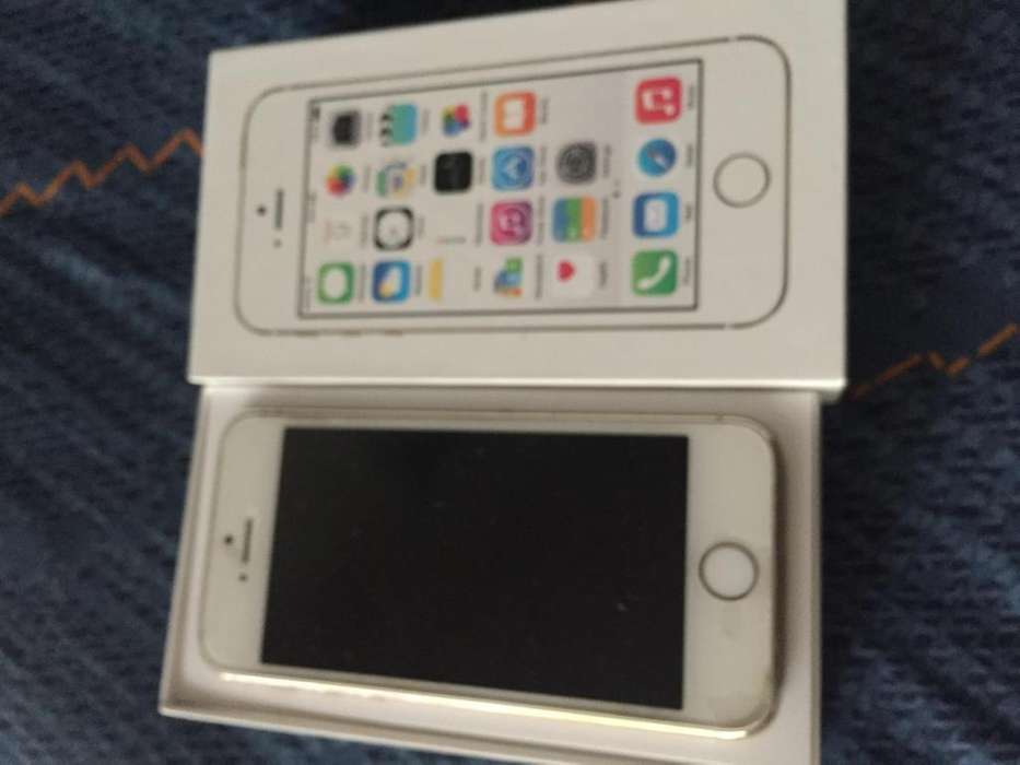 CELULAR iPhone 5s Gold 32 Gb. Libre Impecable .Funciona Perfecto