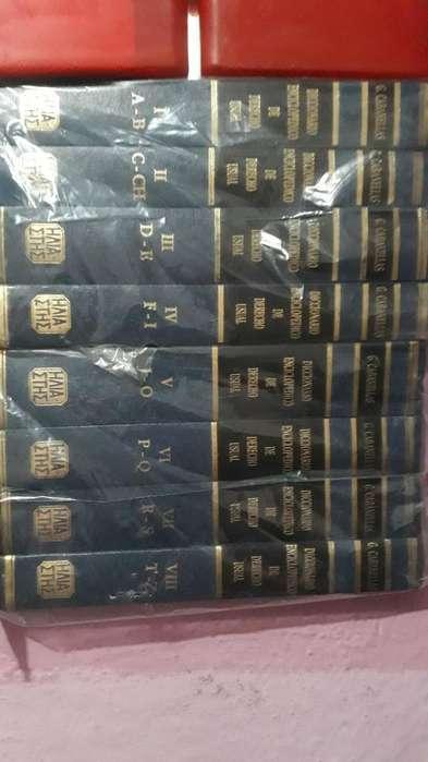 Vendo Diccionario Enciclop de Derecho