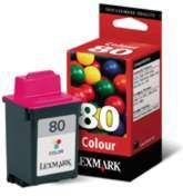 Lexmark 80 Color 12a1980 (vencido)