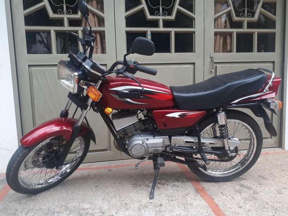 Yamaha Rx 100. Convertida en 115.