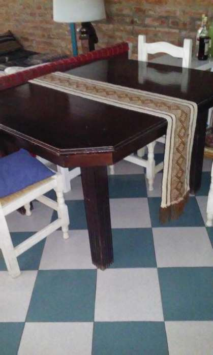 <strong>muebles</strong> antiguos juego de mesa y mueble de comedor s/sillas