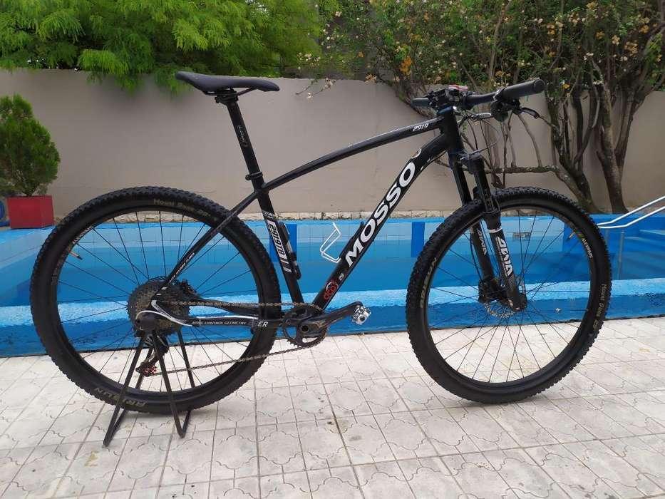 Bicicleta Mosso 2919tb Mtb Competición