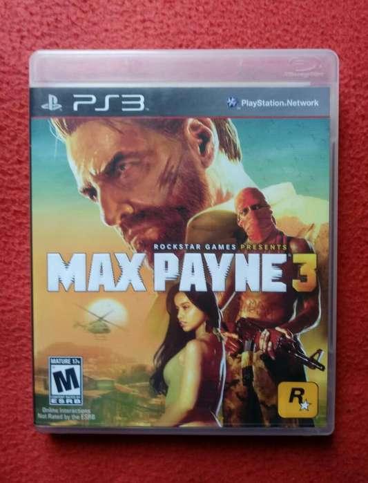 Ps3 Excelente Juego Play 3 Max Payne