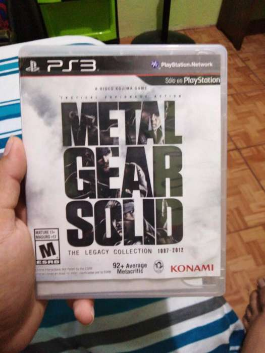 Metal Gear Solid Los Dos Discos Ps3