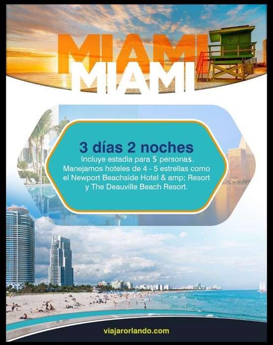Paquete Miami, Orlando Y Crucero Bahamas