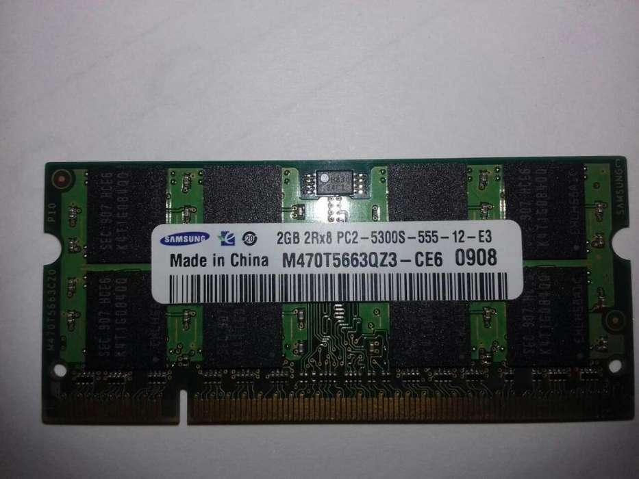 memoria ram ddr2 2gb portatil