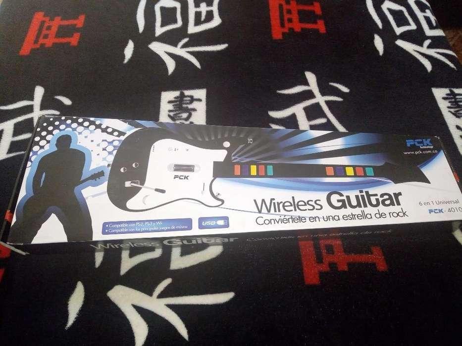Guitarra Hero Ganga Inalámbrica
