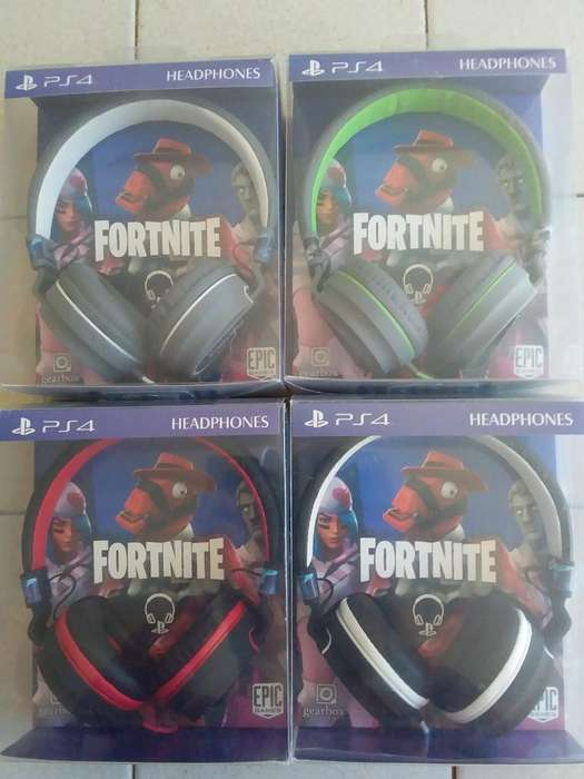 Auricular Headset Tamaño Mas Grande Ps4 PlayStation 4 Fornite C/Microfono Y Coneccion 3.5 ACEPTO TODAS LAS TARJETA