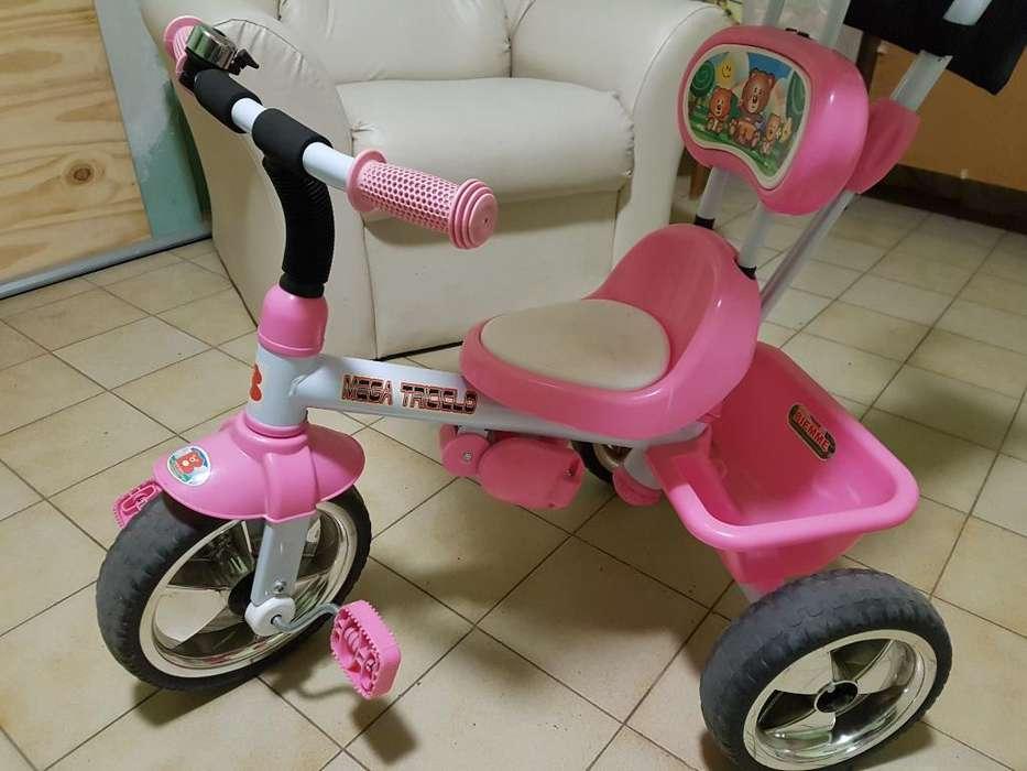 Triciclo Biemme Rosa