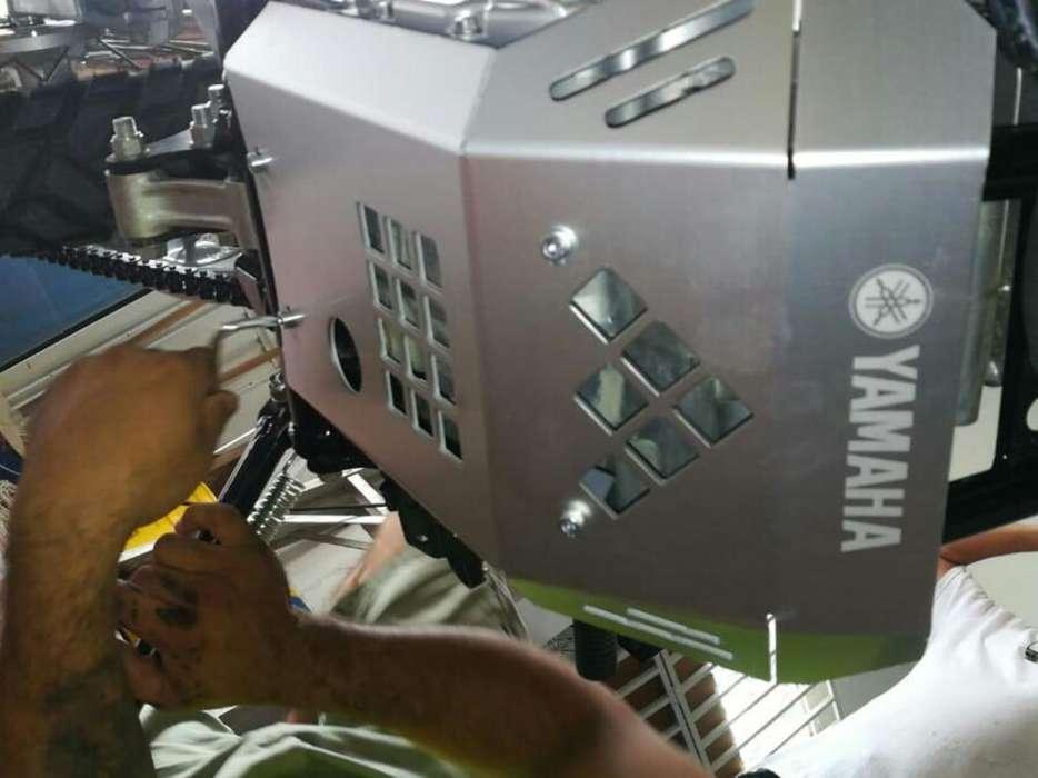 Pechera Protector de Motor Xtz 250