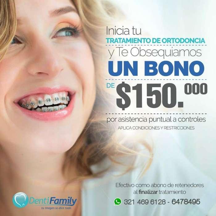 Inicia Tu Ortodoncia Solo con 85000
