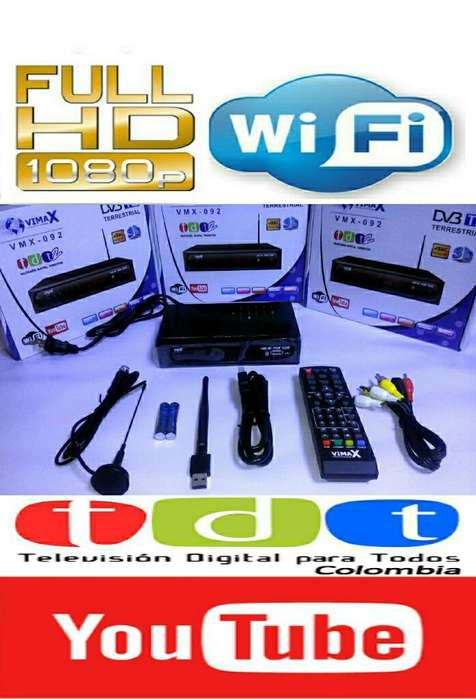 Decodificador Tdt Hd Wifi Youtube