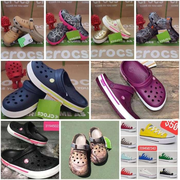 Crocs Y Converse