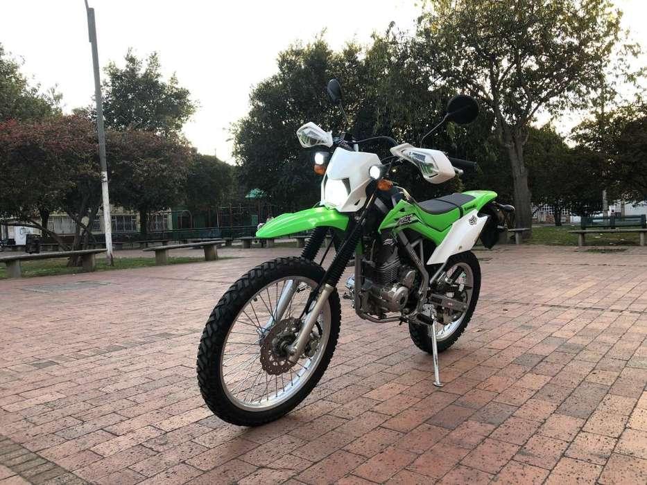 <strong>kawasaki</strong> KLX150 2018 Verde Blanca
