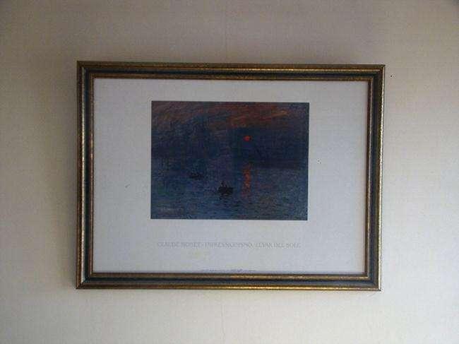 Cuadro con Lámina de Claude Monet
