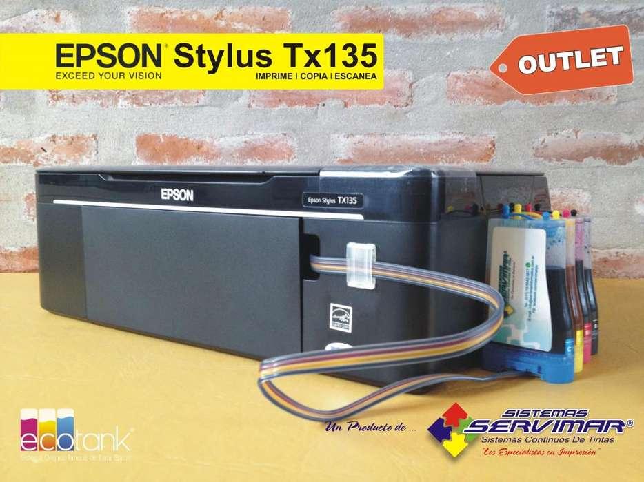 <strong>impresoras</strong> Epson TX125/Tx135 de Outlet