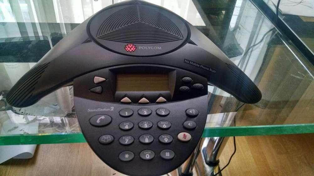 Telefono Araña Polycom Soundstation2