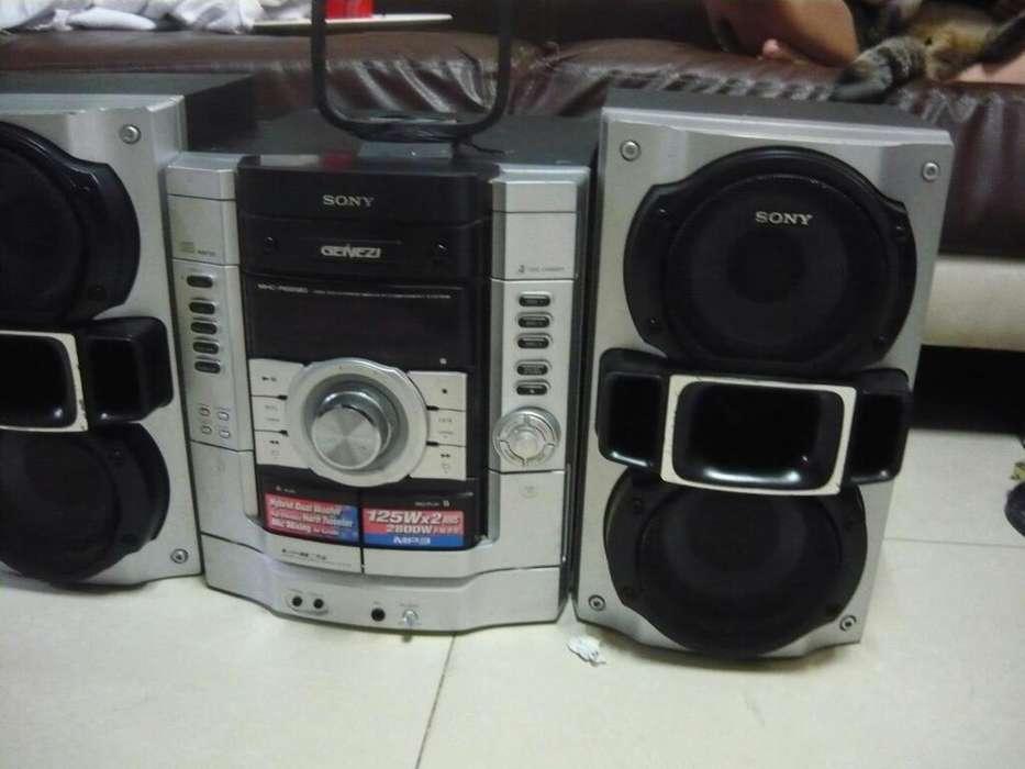 Vendo Equipo de Sonido Marca Sony Genezi