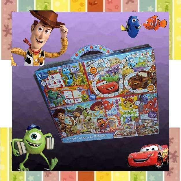 Juego de mesa 5 Super <strong>juegos</strong> de película Disney.