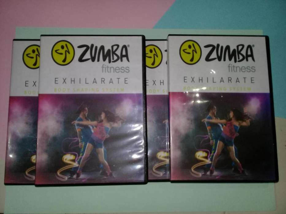 Combo Zumba Exhilarate y Tapout XT