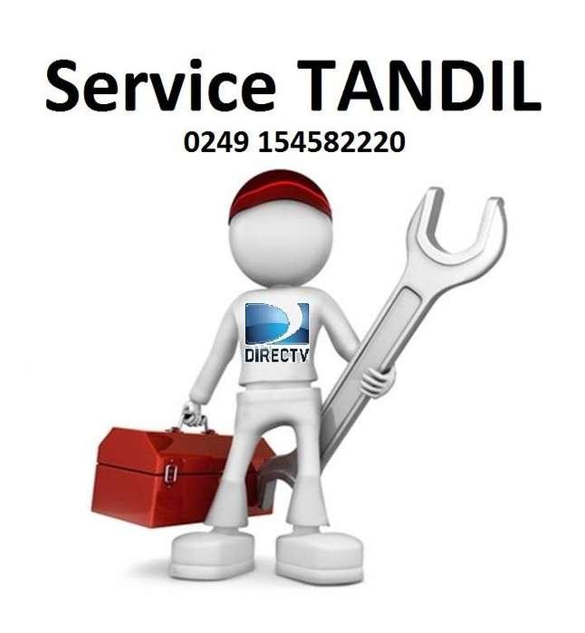 a TANDIL DIRECTV SERVICIO TECNICO PARTICULAR SERVICE prepago pre pago