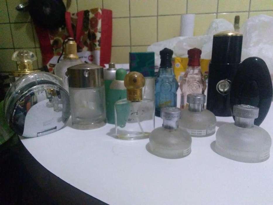 Lote de Frascos de Perfumes