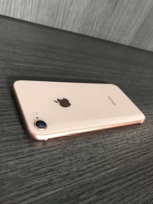 iPhone 8 64Gb Gold Como Nuevo Perfecto