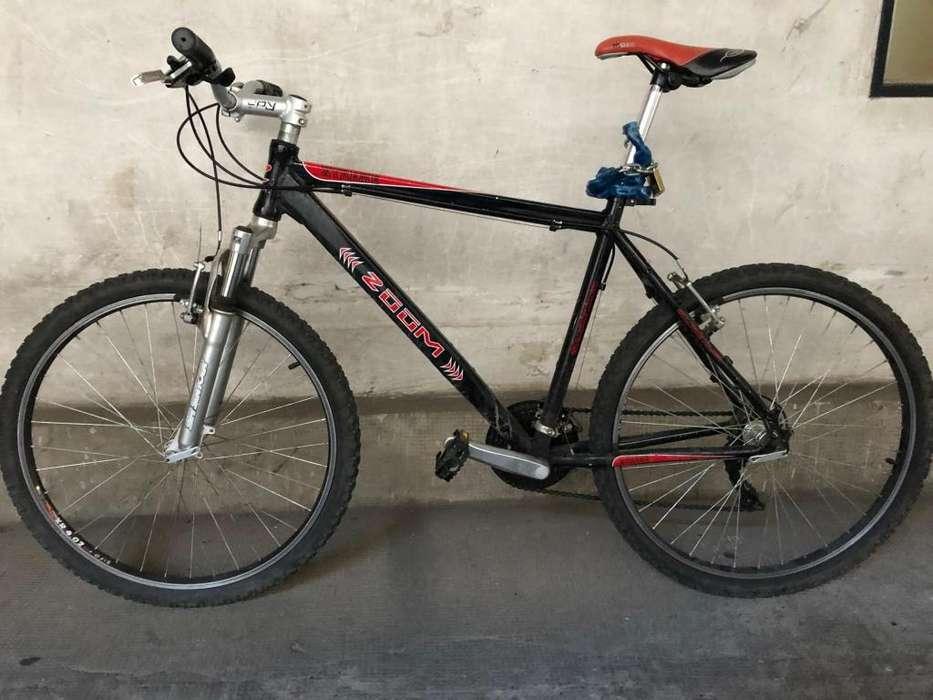 Bicicleta mtb cuadro aluminio