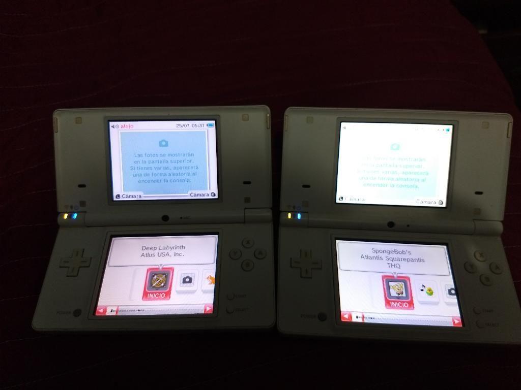 Vendo 2 Nintendo Dsi