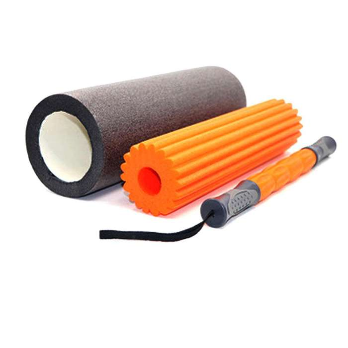 Set De Yoga Foam Roller Ls3765