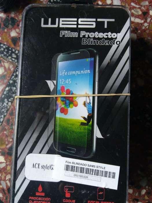 Glass Vidrio Templado Samsung Ace Style