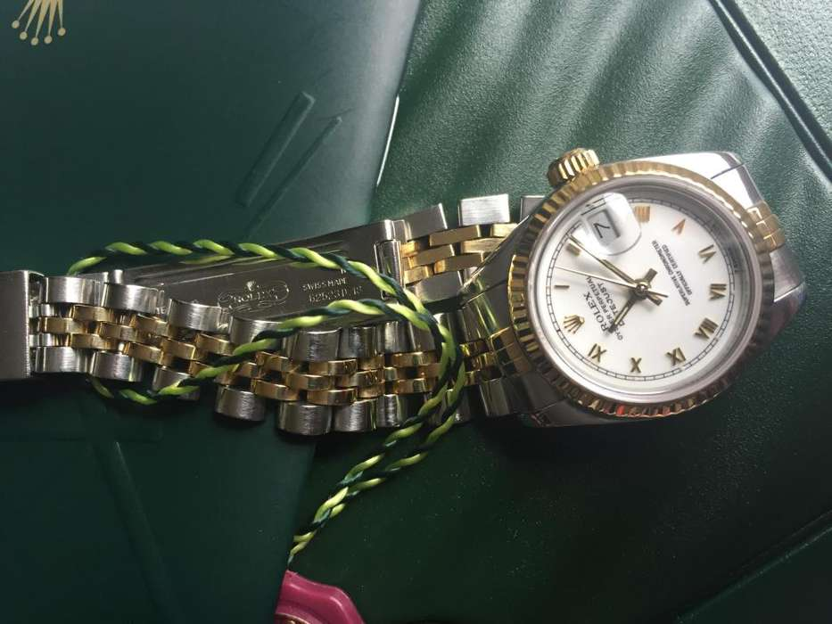<strong>rolex</strong> Datejust Lady Acero y Oro 18K Original Automatico.
