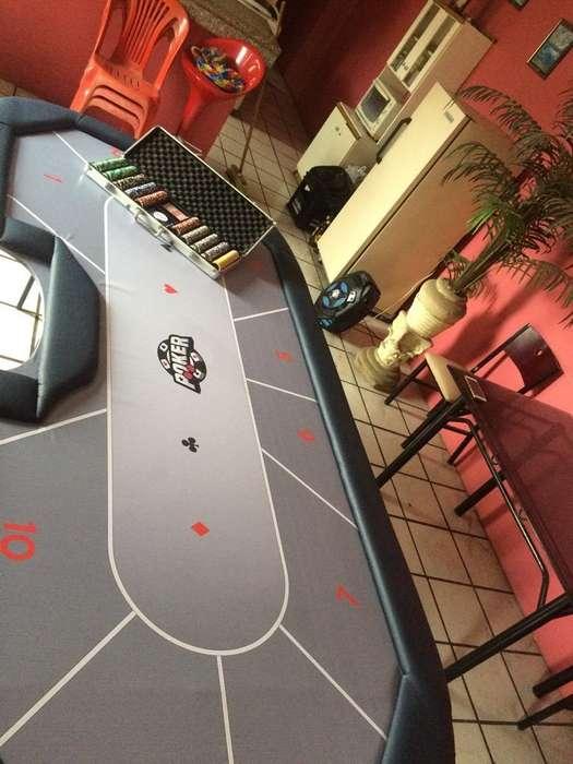 Mesa de Poker Y Fichero Personalizado