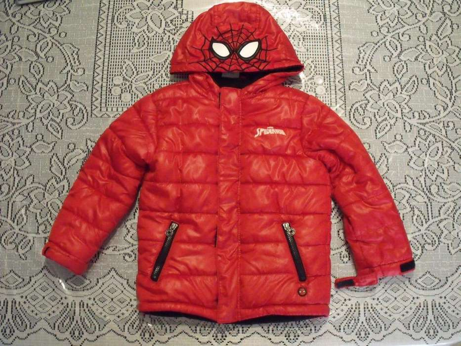 Campera Spiderman Marvel Talle 5 Tipo Canelon