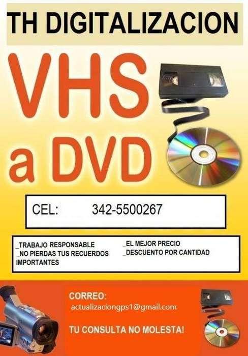 DIGITALIZACION VHS
